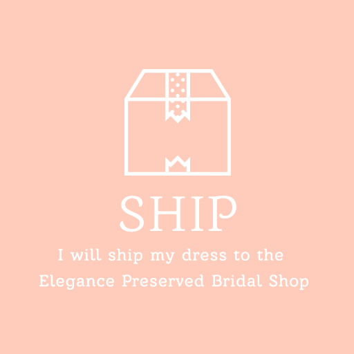 How to start your wedding dress preservation, cleaning and repair for shipping
