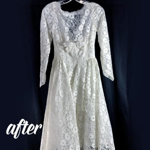 Antique Dress Cleaning After