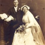grandmother's wedding dress restoration and preservation