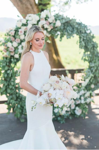 Lovely Bride Wedding Dress Cleaning - Meghan & Kevin